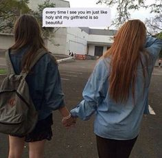 LGBT Lesbian Gay Love and Pride Pics and Quotes lesbian girls Lesbian Love, Cute Lesbian Couples, Lesbian Pride, Cute Couples Goals, Intimate Couples, Cute Relationship Goals, Cute Relationships, Relationship Quotes, Charmer Une Femme
