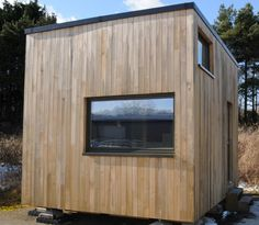 Designed with couples in mind, The Cube has everything that a family of two could want. Ample storage space and seating, a full kitchen and bathroom, a lounge, and a washing machine make up the long list of amenities included in this tiny home. The best part, however, is its low environmental impact. The Cube is built with sustainable materials, has a composting toilet, and uses low-energy electronics to ensure a carbon footprint even smaller than the house itself.