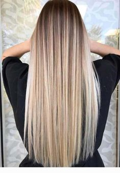 Latest Cost-Free Balayage hair blonde ombre Strategies Summer's on how! As well as the thought processes use brighter, less heavy, extra gorgeous and shi Brown Hair Balayage, Brown Ombre Hair, Light Brown Hair, Ombre Hair Color, Hair Color Balayage, Blonde Highlights, Long Ombre Hair, Dark Hair, Hair Colour