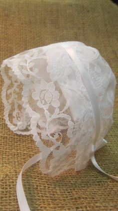 Keepsake Baby Bonnet Gift by 4onemore on Etsy, $9.00
