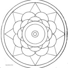 17 Best Mandala Drawings images in 2014 | Coloring books ...