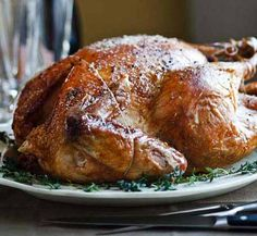 I like to use kosher turkeys (such as Empire) for my Thanksgiving dinner- they've already been salted so I end up saving so much time!