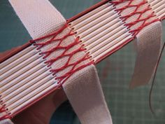 french stitching on tapes
