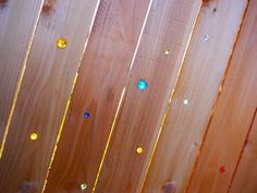 Marbles in/on your fence, make it sparkle!