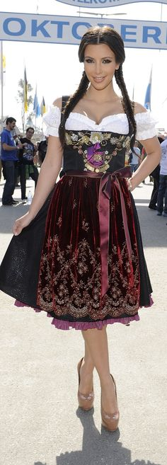 Pin for Later: Raise a Pint to the Chicest Stars in Dirndls