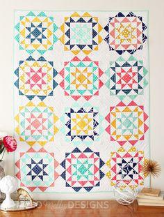 Rhinestones Quilt Pattern