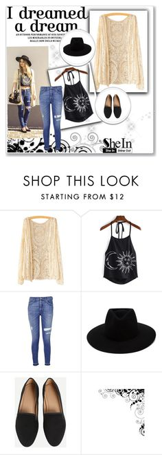 """""""SheIn 9/V"""" by nermina-okanovic ❤ liked on Polyvore featuring 7 For All Mankind, rag & bone and shein"""