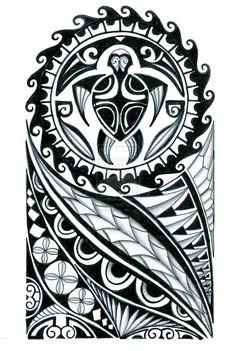 polynesian_half_sleeve_tattoo_design_by_thehoundofulster-d897oep.jpg (1024×1524)                                                                                                                                                                                 Más