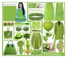 """""""Pantone Fashion Color Report Spring - summer 2017 - Greenery.."""" by parizhanka-13 ❤ liked on Polyvore featuring 3.1 Phillip Lim, Pour La Victoire, Ray-Ban, Michael Antonio, Crayo, Ice, CÉLINE, Moschino Cheap & Chic, Bohème and Brooks Brothers"""