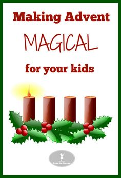 Fun and frugal family Advent activity ideas and resources! Make Advent magical, memorable and meaningful for your kids!