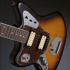 Fender Kurt Cobain Jaguar Gaucher 3-Color Sunburst 014-3020-700 ...