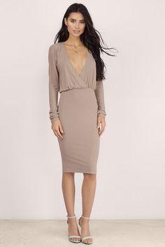 Bella Dolman Sleeve Midi Dress