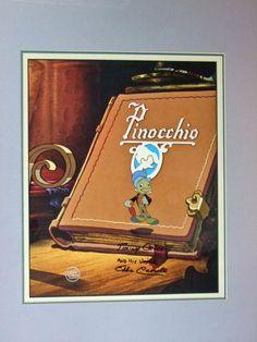 Jiminy Cricket Disney Production Cel eBay Jiminy cricket