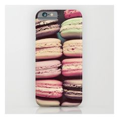 Macarons iPhone 6s Case ($35) ❤ liked on Polyvore featuring accessories, tech accessories, macaron, phonecase and iphone & ipod cases
