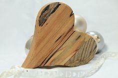 Sag's mit ♥ Holzherz von pfiati - mit Liebe zum Holz auf DaWanda.com