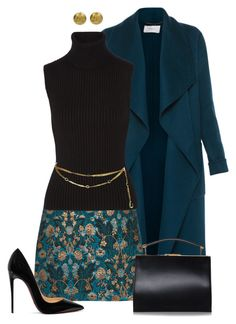 Teal by kim-mcculley on Polyvore featuring polyvore fashion style Michael Kors L.K.Bennett Christian Louboutin Chanel clothing teal WearIt womensFashion
