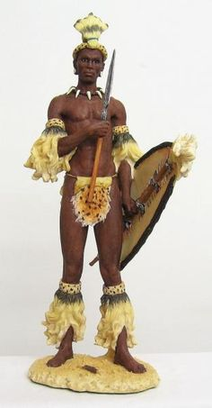 Toscano Design Shaka, the Zulu Warrior King Sculpture African Figurines, Black Figurines, Zulu Warrior, Warrior King, African Culture, African History, Africa Art, Black Artwork, Art Sculpture