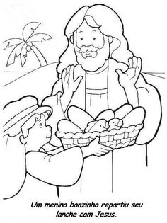 jesus feeds the 5000 coloring page design feeds coloring page fed home bible story coloring pages jesus feeds 5000 Jesus Coloring Pages, Fish Coloring Page, Preschool Coloring Pages, Preschool Bible, Bible Activities, Coloring Books, Sunday School Activities, Sunday School Lessons, Sunday School Crafts