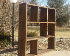 unique primtiques d x 56 w x 56 h large square bookcase tv center dark walnut stained soild wood bookshelf wall unit
