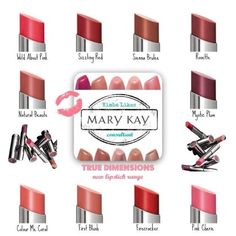 Mary Kay--love this lipstick line!! So smooth and soft- and the tube is so pretty (that's what matters!)