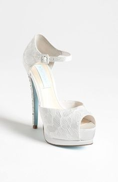 Blue by Betsey Johnson 'Veil' Sandal available at #Nordstrom