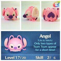 Tsum Tsum Angel Pattern by uDezignCrafts on Etsy