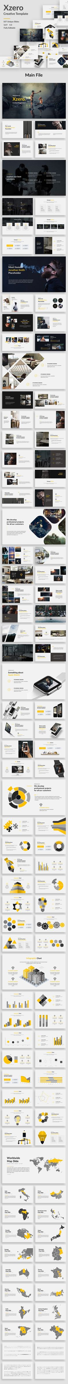 Xzero - Creative Powerpoint Template - Creative PowerPoint Templates