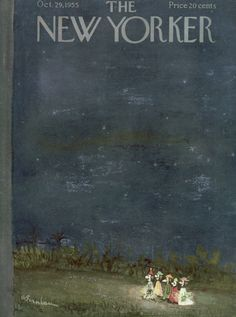 The New Yorker - Saturday, October 29, 1955 - Issue # 1602 - Vol. 31 - N° 37 - Cover by : Abe Bimbaum