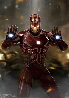My fan art of Marvel& Iron Man. Marvel Comics, Marvel Art, Marvel Heroes, Marvel Characters, Marvel Avengers, Meliodas Vs, Les Innocents, Iron Man Art, Iron Man Wallpaper