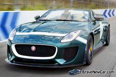2015 Jaguar F-Type Project 7 front view  http://bravenewcarz.com/2015-jaguar-f-type-project-7/