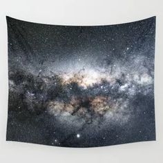Milky Way Galaxy Stars Night Sky Wall Tapestry Geometric Circle, Geometric Lines, Tapestry Bedroom, Tapestry Wall Hanging, Rose Flower Photos, Black And White Marble, Society 6 Tapestry, Wave Design, Galaxy Art