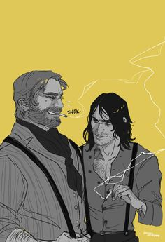 he's telling him a dirty joke Gotham, Red Dead Redemption 1, John Marston, Read Dead, Rdr 2, Comic, Best Games, Character Design, Anime
