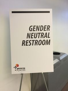 On Restrooms, Gender, and Fear