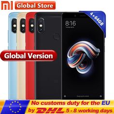 """Original Global Version Xiaomi Redmi Note 5 4GB 64GB Snapdragon S636 Octa Core Mobile Phone 5.99"""" 4000mAh 12.0MP+5.0MP  Price: 172.48 & FREE Shipping #computers #shopping #electronics #home #garden #LED #mobiles #rc #security #toys #bargain #coolstuff 