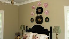 Guest Bedroom Decorating Ideas {French Country}  www.oursouthernhomesc.com