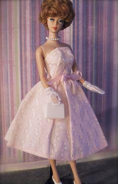 Vintage Barbie - Bubblecut Barbie - Titian