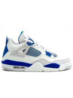 65f02cc2a28e 308497-105 Air Jordan 4 Military Blue White 2012 Jordan Shoes For Sale