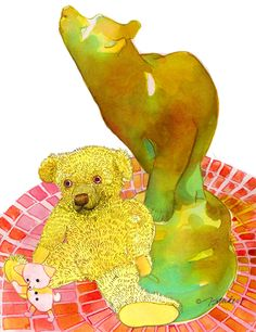 Fine Art Daily - August 28, 2014 Let's Go to London and Visit Winnie-the-Pooh! http://jeandsanders.blogspot.com/2014/08/fine-art-daily-august-28-2014.html