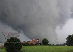 one of those tornadoes in Alabama on April 27, 2011. (: ( but ): for the destruction :/ )