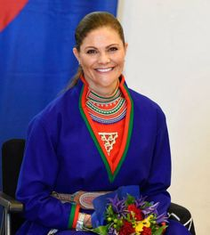 Crown Princess Victoria attended the opening of the Sami Parliament on August 30, 2017..
