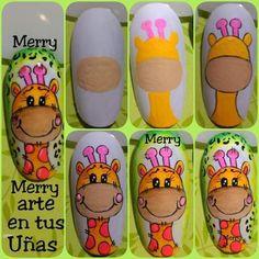 Anime Nails, Thalia, Nail Designs, Nail Art, Cartoon, Nail Art Designs, Toe Nail Art, Short Nail Manicure, Nail Manicure