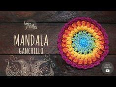Tutorial Mandala Ganchillo   Crochet - YouTube