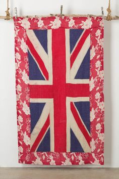 Becky Oldfield  Flag Blanket