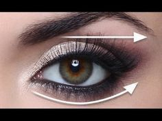 Forget what you know about hooded eyes because while you may have never believed you could nail a dramatic cat eye a la Nicki Minaj or a thin, Adele-like liner, the truth is you can. If you've ever wondered how to apply eyeliner to hooded eyes, I'm… Makeup Tricks, Eye Makeup Tips, Love Makeup, Skin Makeup, Beauty Makeup, Makeup Tutorials, Makeup Eyeshadow, White Eyeshadow, Makeup Guide