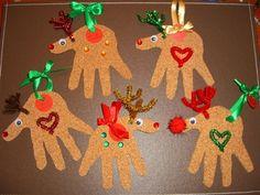 Handprint Reindeers