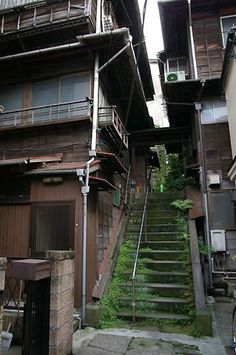 Japan Architecture, Architecture Design, Japanese Buildings, Bg Design, Aesthetic Japan, Japan Street, Japan Photo, Hayao Miyazaki, Environment Design