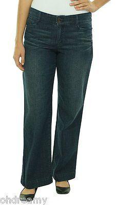 Lauren Jeans Co. Women'S Cotton Twill Trouser Jeans, Size 2