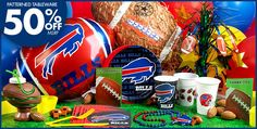 NFL Buffalo Bills Party Supplies-Party City
