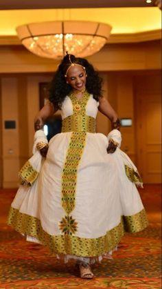 Traditional Habesha Dress