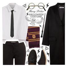 """Diy Halloween Costume: Harry Potter"" by anamarija00 ❤ liked on Polyvore featuring Etro, Givenchy, Y's by Yohji Yamamoto, Lardini, Gap, Fall, harrypotter, autumn, halloweencostume and DIYHalloween"